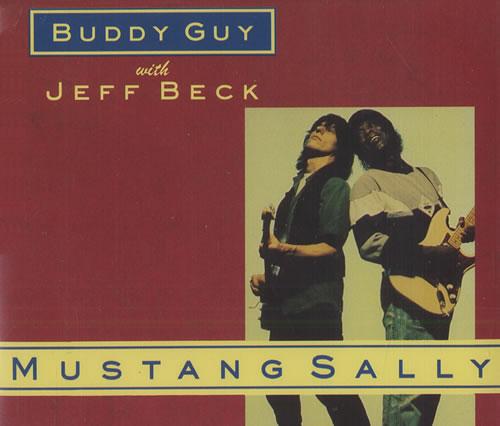 """Jeff Beck Mustang Sally CD single (CD5 / 5"""") UK BEKC5MU444429"""