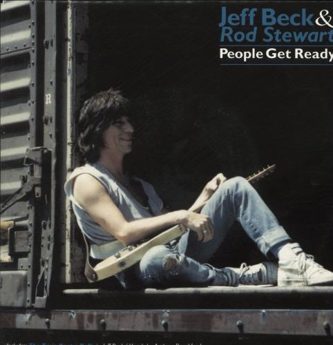 "Jeff Beck People Get Ready 7"" vinyl single (7 inch record) Dutch BEK07PE106426"