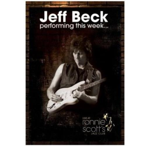 Jeff Beck Performing This Week: Live At Ronnie Scotts DVD UK BEKDDPE464723