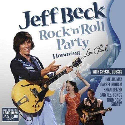 Jeff Beck Rock N Roll Party: Honoring Les Paul CD album (CDLP) UK BEKCDRO530527