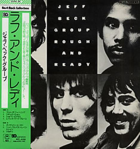 Jeff Beck Rough And Ready - quad vinyl LP album (LP record) Japanese BEKLPRO150116