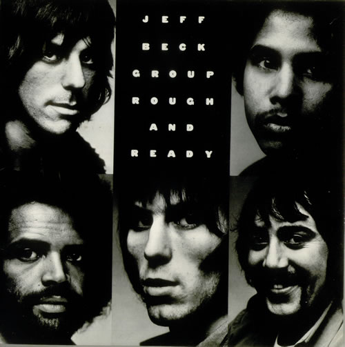 Jeff Beck Rough And Ready vinyl LP album (LP record) UK BEKLPRO546845