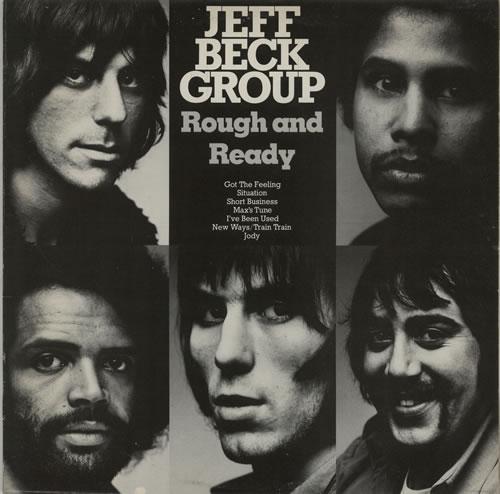 Jeff Beck Rough And Ready vinyl LP album (LP record) Dutch BEKLPRO624921