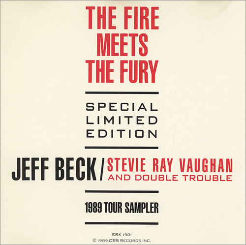 Jeff Beck The Fire Meets The Fury - No Strips Or Stratocaster CD album (CDLP) US BEKCDTH81937