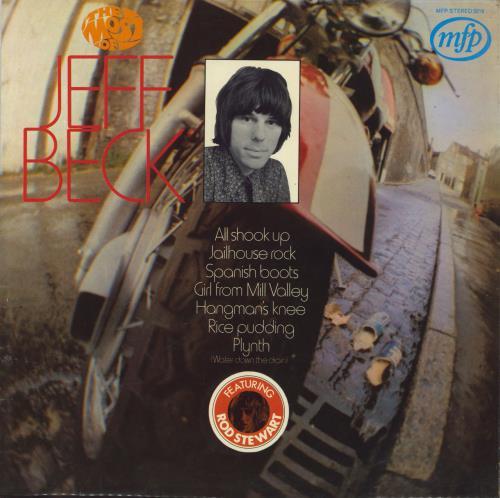 Jeff Beck The Most Of Jeff Beck vinyl LP album (LP record) UK BEKLPTH316109