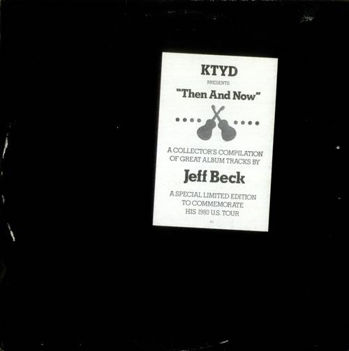 Jeff Beck Then And Now 2-LP vinyl record set (Double Album) US BEK2LTH71630