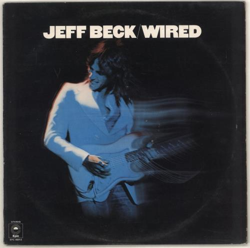 Jeff Beck Wired - 1st - EX vinyl LP album (LP record) UK BEKLPWI685204