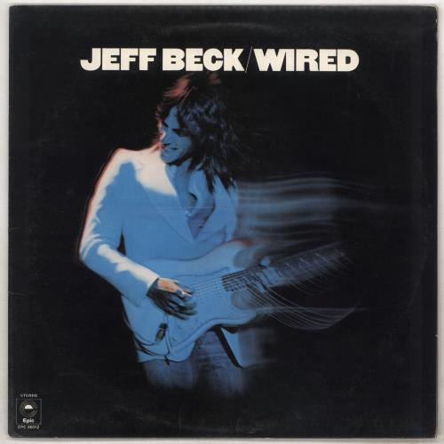 Jeff Beck Wired - Orange Label vinyl LP album (LP record) UK BEKLPWI733400