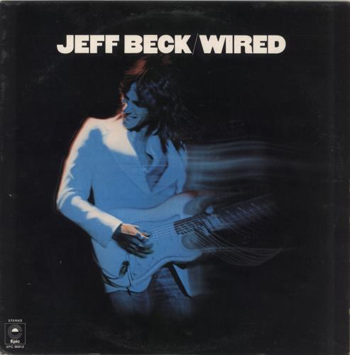 Jeff Beck Wired vinyl LP album (LP record) UK BEKLPWI716224