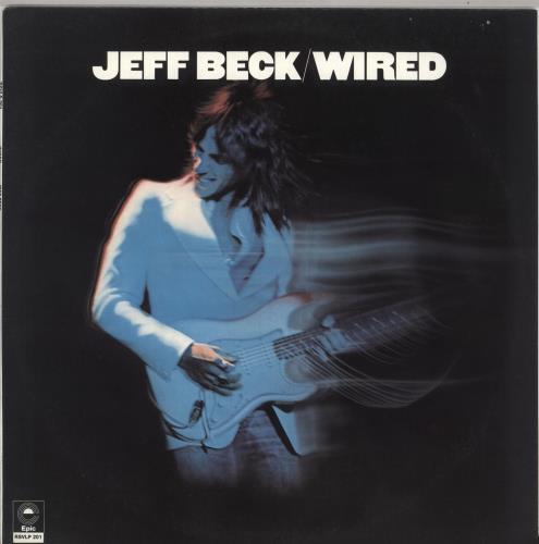 Jeff Beck Wired vinyl LP album (LP record) Australian BEKLPWI734366