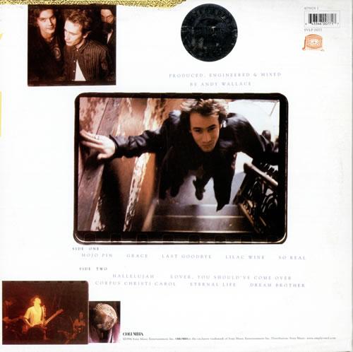 Jeff Buckley Grace - 180gm vinyl LP album (LP record) UK JFBLPGR463778
