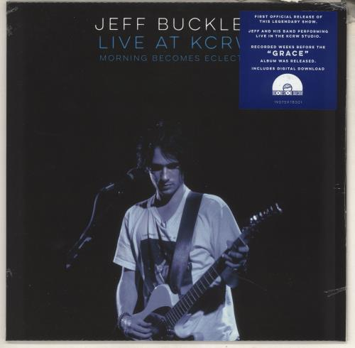 Jeff Buckley Live On KCRW: Morning Becomes Eclectic - RSD BF19 - Sealed vinyl LP album (LP record) UK JFBLPLI734499
