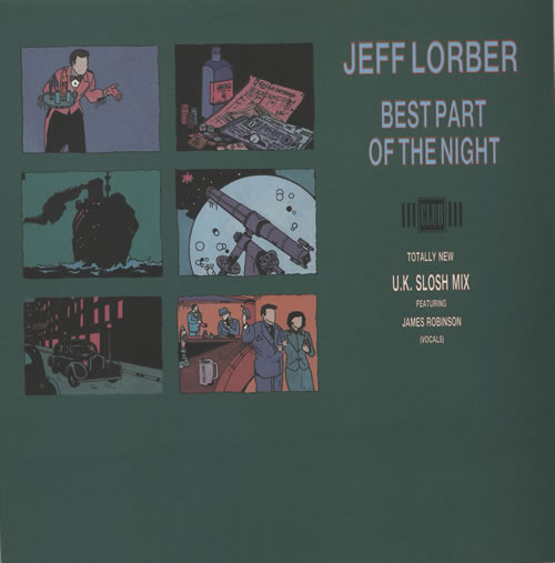 "Jeff Lorber Best Part Of The Night 12"" vinyl single (12 inch record / Maxi-single) UK JZ412BE578237"