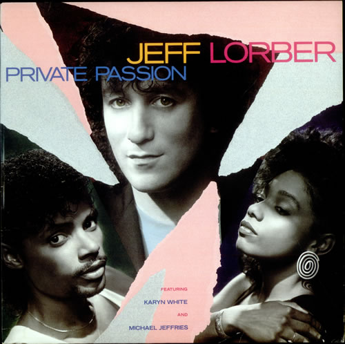 Jeff Lorber Private Passion vinyl LP album (LP record) US JZ4LPPR530411