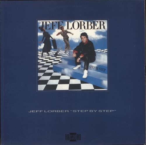 Jeff Lorber Step By Step vinyl LP album (LP record) Dutch JZ4LPST505719