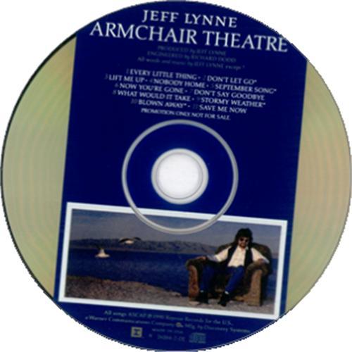 13c2ce6b5a8 Jeff Lynne Armchair Theatre US Promo CD album (CDLP) (22883)