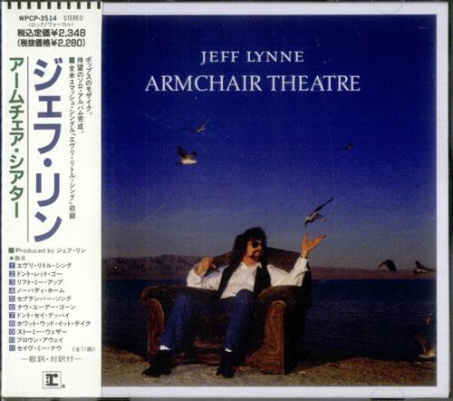 947653898ee Jeff Lynne Armchair Theatre CD album (CDLP) Japanese J-LCDAR535557