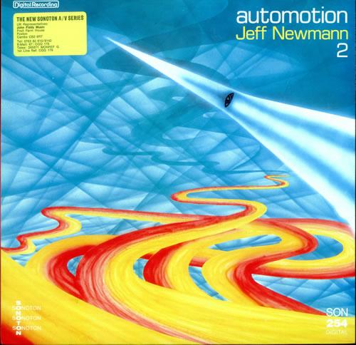 Jeff Newmann Automotion 2 vinyl LP album (LP record) German JZ7LPAU516413