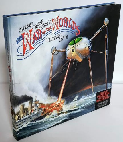 Jeff Wayne War Of The Worlds Limited Collector S Edition