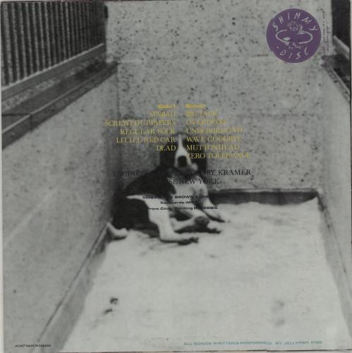 Jellyfish Kiss Animal Rites vinyl LP album (LP record) US JX0LPAN675343