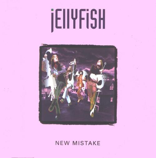 "Jellyfish New Mistake 7"" vinyl single (7 inch record) UK JEL07NE47728"