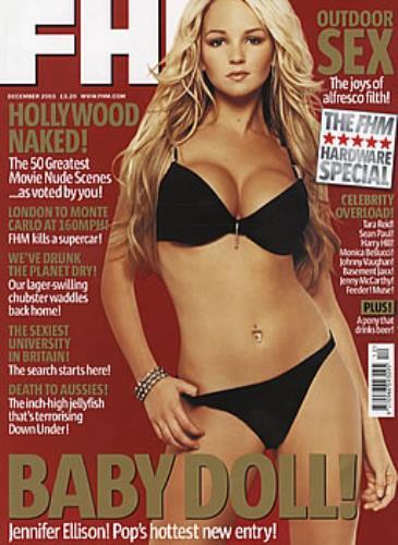 Jennifer Ellison Fhm Uk Magazine 307378 December 2003