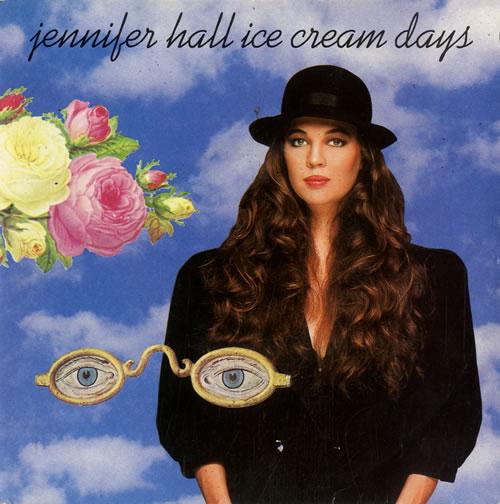 "Jennifer Hall Ice Cream Days 7"" vinyl single (7 inch record) UK KS307IC578659"