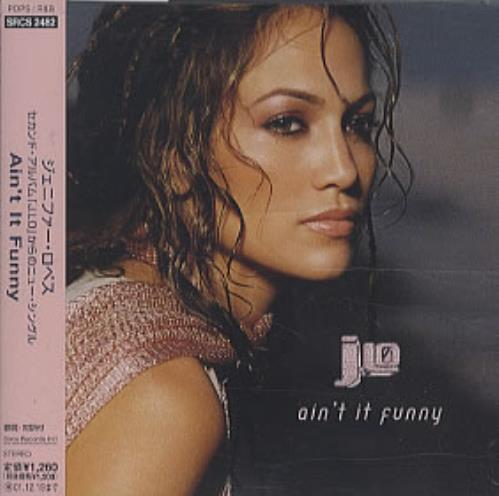 "Jennifer Lopez Ain't It Funny CD single (CD5 / 5"") Japanese LPZC5AI190541"