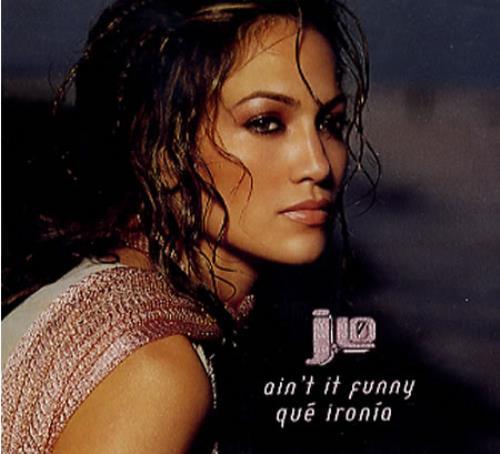 "Jennifer Lopez Ain't It Funny CD single (CD5 / 5"") Mexican LPZC5AI199394"