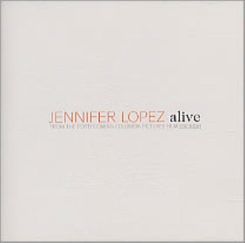 "Jennifer Lopez Alive CD single (CD5 / 5"") US LPZC5AL214002"