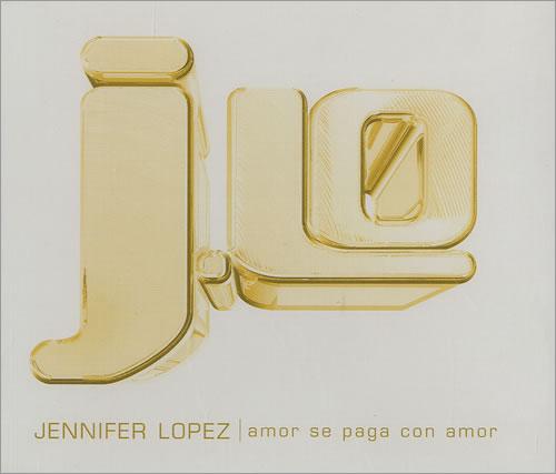 "Jennifer Lopez Amor Se Paga Con Amor CD single (CD5 / 5"") Spanish LPZC5AM180135"