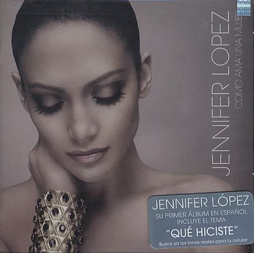 Jennifer Lopez Como Ama Una Mujer CD album (CDLP) Mexican LPZCDCO399810