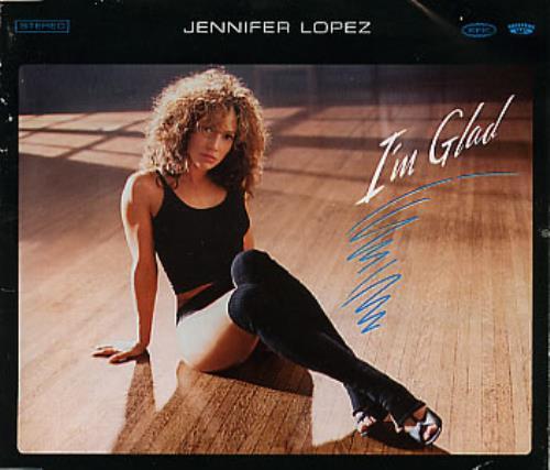 "Jennifer Lopez I'm Glad CD single (CD5 / 5"") Brazilian LPZC5IM286240"