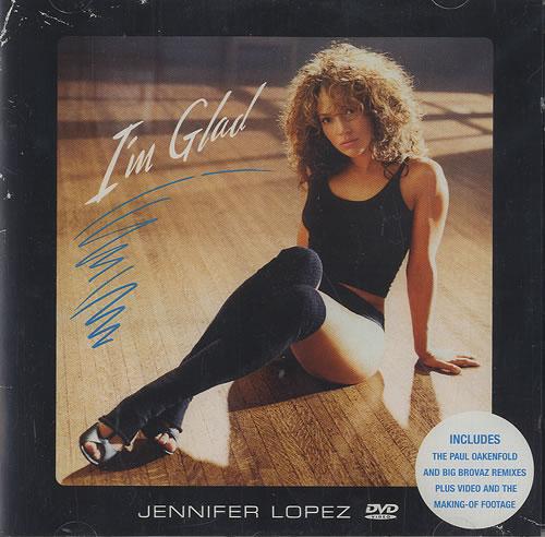 Jennifer Lopez I'm Glad DVD Single UK LPZDSIM494699