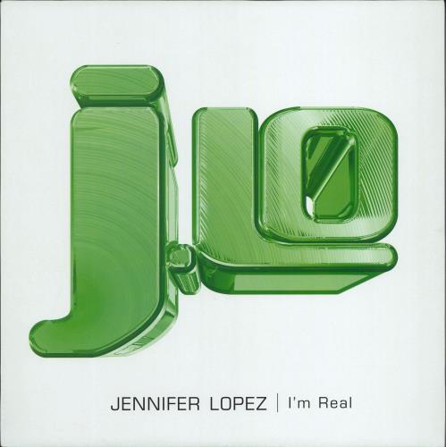 "Jennifer Lopez I'm Real 12"" vinyl single (12 inch record / Maxi-single) UK LPZ12IM197498"