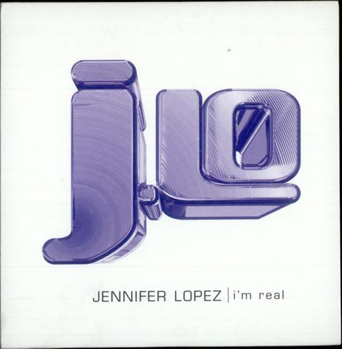 "Jennifer Lopez I'm Real CD single (CD5 / 5"") UK LPZC5IM510735"