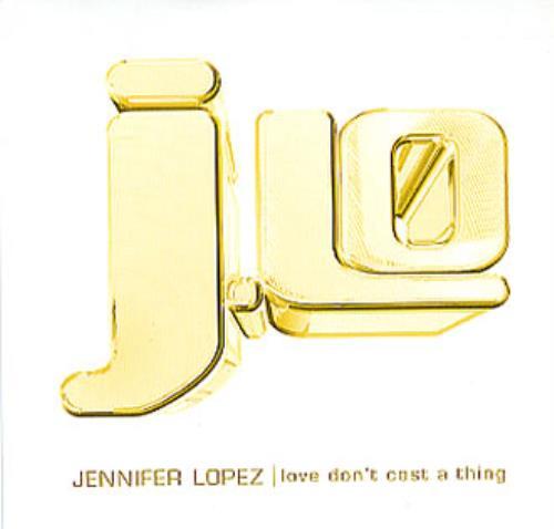 "Jennifer Lopez Love Don't Cost A Thing CD single (CD5 / 5"") UK LPZC5LO171694"