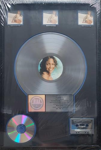 Jennifer Lopez On The 6 - 3,000,000 award disc US LPZAWON694175