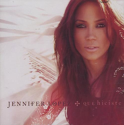 Jennifer Lopez Qué Hiciste CD-R acetate US LPZCRQU397819