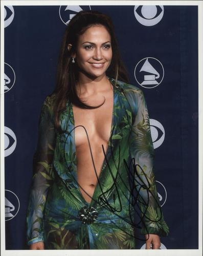 Jennifer Lopez Signed Photograph photograph UK LPZPHSI717687