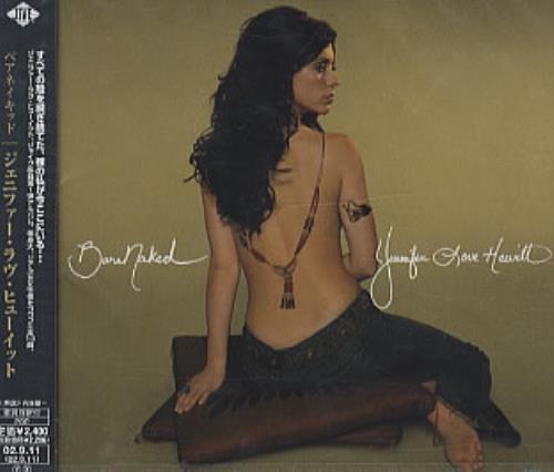 Jennifer Love Hewitt Bare Naked CD album (CDLP) Japanese JLVCDBA228580