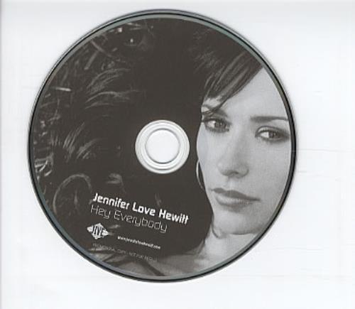 "Jennifer Love Hewitt Hey Everybody CD single (CD5 / 5"") Australian JLVC5HE310617"