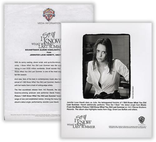 Jennifer Love Hewitt I Still Know What You Did Last Summer media press pack US JLVPPIS388698