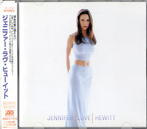 Jennifer Love Hewitt Jennifer Love Hewitt CD album (CDLP) Japanese JLVCDJE168559