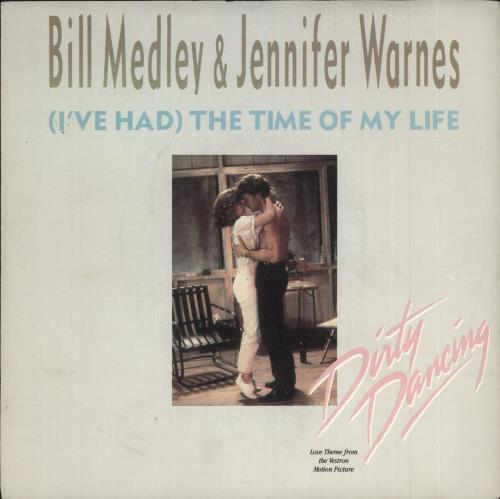 "Jennifer Warnes (I've Had) The Time Of My Life 7"" vinyl single (7 inch record) UK JEN07IV459996"