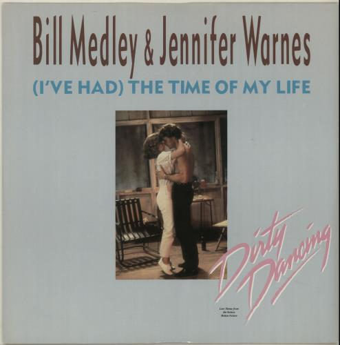 "Jennifer Warnes (I've Had) The Time Of My Life 12"" vinyl single (12 inch record / Maxi-single) UK JEN12IV47967"