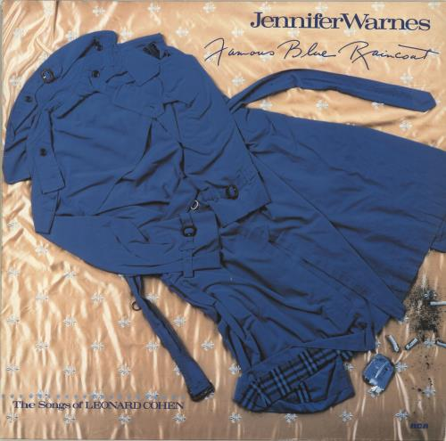 Jennifer Warnes Famous Blue Raincoat - EX vinyl LP album (LP record) German JENLPFA675411
