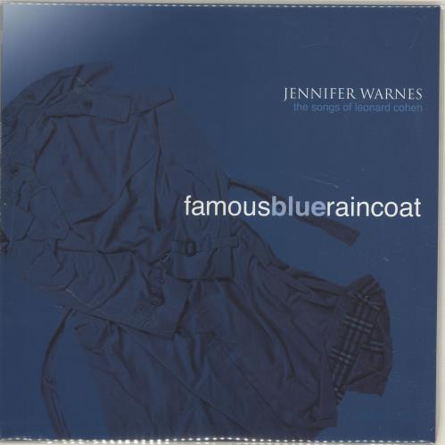 Jennifer Warnes Famous Blue Raincoat: The Songs Of Leonard Cohen - 180gm vinyl LP album (LP record) US JENLPFA695814