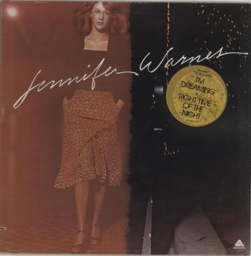 Jennifer Warnes Jennifer Warnes vinyl LP album (LP record) US JENLPJE552278