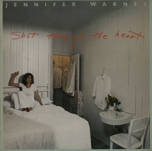Jennifer Warnes Shot Through The Heart vinyl LP album (LP record) UK JENLPSH297970